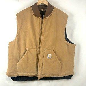 Carhartt Big Mens4XL Sleeveless Chore Jacket Vest